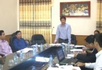 Ban tổ chức hội thi sáng tạo kỹ thuật tỉnh Nam Định lần thứ 6 ( 2016-2017) họp báo công bố kết quả các giải pháp dự kiến đạt giải và xây dựng kế hoạch tổng kết trao giải hội thi sáng tạo kỹ thuật tỉnh Nam Định lần thứ 6.