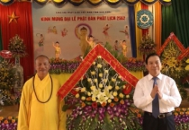 Ban Trị sự giáo hội phật giáo tỉnh tổ chức Đại lễ Phật đản Phật lịch 2562, dương lịch 2018.