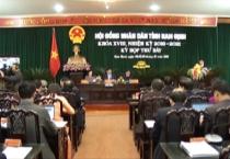 Bế mạc kỳ họp thứ 7 HĐND tỉnh khóa XVIII, nhiệm kỳ 2016 - 2021