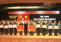 Bộ chỉ huy Quân sự tỉnh tổng kết nhiệm vụ Quốc phòng, quân sự địa phương và phong trào Thi đua quyết thắng năm 2017.