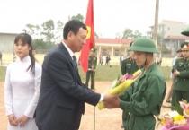 Các huyện và thành phố Nam Định đồng loạt tổ chức lễ giao nhận quân năm 2018.