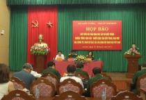 """Cục tuyên huấn tổng cục chính trị Quân đội nhân dân VN phối hợp với viện lịch sử quân sự VN, ban tuyên giáo tỉnh ủy Nam Định tổ chức họp báo giới thiệu về hội thảo khoa học """"Thượng tướng Song Hào- người cộng sản kiên trung, mẫu mực, nhà chính trị quân sự"""