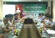 Đài PTTH Nam Định tổ chức lễ bốc thăm chia bảng Giải bóng đá phong trào tranh Cup NTV lần thứ 2 năm 2017.