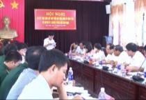 Đảng ủy Bộ đội Biên phòng tỉnh và huyện ủy 3 huyện tuyến biển Giao Thủy, Hải Hậu, Nghĩa Hưng tổ chức sơ kết một năm thực hiện Quy chế phối hợp.