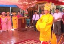 Đảng ủy, HĐND, UBND xã Mỹ Phúc, huyện Mỹ Lộc tổ chức lễ dâng hương tưởng niệm 753 năm ngày mất Thống quốc thái sư Trần Thủ Độ.