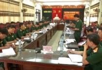 Đoàn công tác Bộ Quốc phòng kiểm tra công tác triển khai các hoạt động kỉ niệm 70 năm Ngày thương binh, liệt sĩ của Quân khu 3 và tỉnh Nam Định.