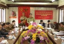 Đoàn công tác của Bộ Công Thương làm việc với tỉnh .