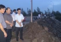 Đoàn công tác của Bộ NNPTNT do đồng chí Hoàng Văn Thắng, thứ trưởng bộ NNPTNT làm trưởng đoàn đã đến thị sát, kiểm tra thiệt hại do ảnh hưởng của bão số 10 gây ra tại tỉnh Nam Định.
