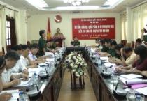 Đoàn công tác Hội đồng Giáo dục QP và AN Quân khu 3 làm việc với Hội đồng Giáo dục QP và AN tỉnh Nam Định