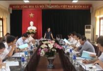 Đoàn giám sát số 2 của HĐND tỉnh giám sát tại huyện Vụ Bản.