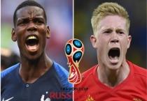 Dự đoán tỉ số World Cup hôm nay (10/7): Pháp vượt qua Bỉ?