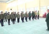 Hội đồng giáo dục QP-AN tỉnh kiểm tra công tác giáo dục QP-AN tại 8 trường THPT trên địa bàn 5 huyện Hải Hậu, Nghĩa Hưng, Vụ Bản, Xuân Trường và Giao Thủy