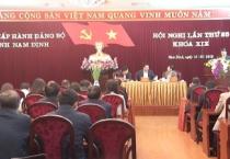 Hội nghị Ban chấp hành Đảng bộ tỉnh lần thứ 25.