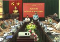 Hội nghị giao ban báo chí tháng 5/2017.