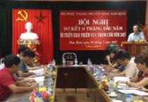 Hội nghị sơ kết 6 tháng đầu năm và triển khai nhiệm vụ 6 tháng cuối năm của Đài PTTH Nam Định.