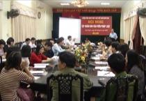 Hội nghị tập huấn báo cáo viên pháp luật cho 55 báo cáo viên pháp luật cấp tỉnh.
