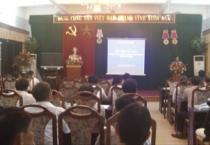Hội nghị tập huấn quản lý xây dựng và phát triển đô thị theo đề án 1961 cho chủ tịch, phó chủ tịch, cán bộ quản lý đô thị, cán bộ địa chính của UBND xã, phường, thị trấn trên địa bàn tỉnh.