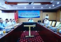 Hội nghị tập huấn trực tuyến toàn quốc về công tác thông tin tuyên truyền của Ban chỉ đạo 389 quốc gia.