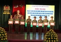 Hội nghị tổng kết 5 năm thực hiện chương trình quốc gia xúc tiến viện trợ phi chính phủ nước ngoài và công tác an ninh đối ngoại trên địa bàn tỉnh giai đoạn 2013-2017.