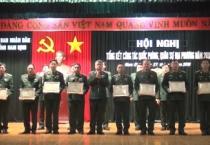 Hội nghị tổng kết công tác quốc phòng, quân sự địa phương năm 2018