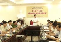 Hội nghị triển khai kế hoạch tổ chức kỳ thi THPT quốc gia năm 2017