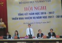 Hội nghị trực tuyến toàn quốc tổng kết năm học 2016-2017, triển khai nhiệm vụ năm học 2017-2018.