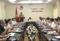 Hội nghị trực tuyến với các tỉnh từ Quảng Ninh đến Khánh Hoà và 8 tỉnh miền núi phía Bắc để bàn các giải pháp ứng phó với bão số 10.