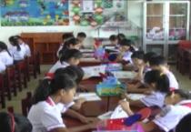 Huyện Hải Hậu hoàn thành 100% số lớp có tủ sách lớp học.