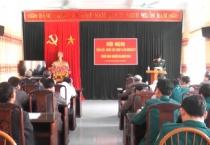 Huyện Trực Ninh triển khai nhiệm vụ giáo dục quốc phòng và an ninh năm 2018.