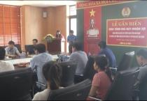 Liên đoàn lao động tỉnh tổ chức lễ gắn biển công trình nhà máy Nhuộm Sợi và thành lập công đoàn cơ sở Công ty Cổ phần  Dệt Bảo Minh, tại khu công nghiệp Bảo Minh.