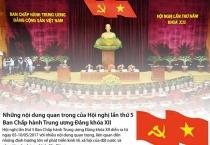 Những nội dung quan trọng của Hội nghị Trung ương 5