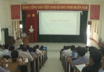 """Sở GD&ĐT tỉnh tổ chức hội nghị tập huấn """"Nâng cao năng lực quản lý trung tâm học tập cộng đồng""""."""