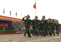 Thành phố Nam Định ra quân huấn luyện năm 2019.