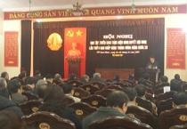 Thành ủy Nam Định tổ chức Hội nghị học tập, quán triệt Nghị quyết Hội nghị lần thứ 6, BCH trung ương Đảng khóa 12