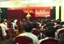 """Tỉnh uỷ Nam Định tổ chức Hội nghị học tập và làm theo tư tưởng, đạo đức, phong cách Hồ Chí Minh về phòng chống suy thoái tư tưởng chính trị, đạo đức, lối sống, những biểu hiện """"tự diễn biến"""",  """"tự chuyển hoá""""."""