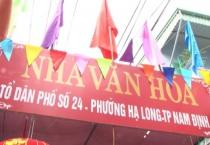 Tổ dân phố 24, phường Hạ Long, TP Nam Định tổ chức ngày hội đại đoàn kết dân tộc ở khu dân cư nhân kỷ niệm 87 năm ngày truyền thống mặt trận tổ quốc Việt Nam.