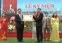 Trường Cao Đẳng Văn hóa Nghệ thuật và Du lịch kỷ niệm 50 năm thành lập và đón nhận Huân chương Lao động hạng nhì.