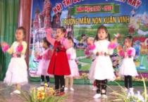 Trường mầm non xã Xuân Vinh, huyện Xuân Trường tổ chức hội thi bé kể chuyện, hát hay năm học 2017 – 2018.