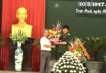 UBND huyện Trực Ninh tổ chức Lễ kỷ niệm 70 năm Ngày truyền thống lực lượng vũ trang huyện 10/5/1947-10/5/2017.