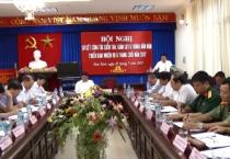 Ủy ban kiểm tra Tỉnh ủy tổ chức hội nghị sơ kết công tác kiểm tra, giám sát 6 tháng đầu năm, triển khai nhiệm vụ 6 tháng cuối năm 2017.