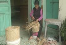 PS  Xuân về với làng nghề đan cói