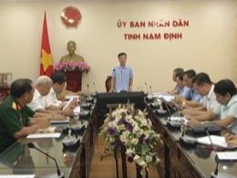 Ban chỉ đạo phòng, chống dịch bệnh Covid-19 tỉnh Nam Định tổ chức hội nghị triển khai các giải pháp phòng, chống dịch Covid 19.