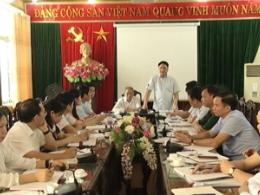 Đoàn kiểm tra của Ủy ban Bầu cử (UBBC) tỉnh kiểm tra, giám sát công tác chuẩn bị bầu cử đại biểu Quốc hội khóa XV và đại biểu HĐND các cấp, nhiệm kỳ 2021 – 2026 tại huyện Mỹ Lộc.