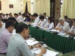 Đồng chí Chủ tịch UBND tỉnh làm việc với thành phố Nam Định.