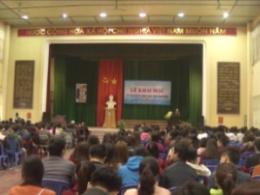 Hội đồng tuyển dụng công chức tỉnh tổ chức lễ khai mạc kỳ thi tuyển công chức tỉnh Nam Định năm 2016.