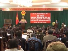 Hội nghị triển khai Nghị quyết của HĐND tỉnh về nhiệm vụ phát triển kinh tế - xã hội và dự toán ngân sách nhà nước năm 2019