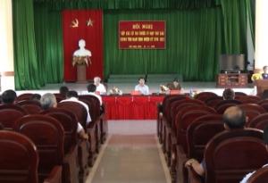 Đại biểu HĐND tỉnh tiếp xúc cử tri tại các huyện Hải Hậu, Nghĩa Hưng và Thành phố Nam Định.