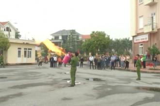 Đài PT-TH Nam Định tổ chức tập huấn nghiệp vụ phòng cháy, chữa cháy năm 2020