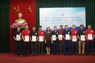 Diễn tập đảm bảo an toàn thông tin tỉnh Nam Định lần thứ thứ nhất