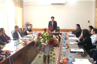Hội nghị họp báo về Hội thi sáng tạo kỹ thuật tỉnh Nam Định lần thứ VII (2018-2019).